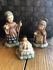 Berta Hummel Studio Nativity 33501 Mary Joseph  Baby Jesus 3 Pc Set Goebel