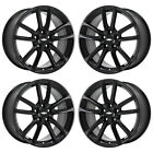 19 CHEVROLET SS CAPRICE GLOSS BLACK WHEELS RIMS FACTORY OEM SET 5621 5622