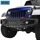 Front Upper Packaged Grill Angry Bird Grille for 07 18 Jeep Wrangler JK