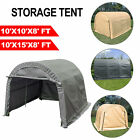 Storage Shed Logic Tent Shelter Car Garage Steel Carport 10x10x8 10x15x8FT