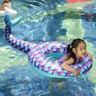 Childrens inflatable swim ring fish tail pool aid float toy swimming floatation