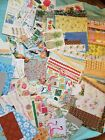 HUGE Scrapbook Paper Lot Over 142 Items Paper Embellishments Stickers Travel