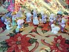 VTG Avon Christmas Heavenly Blessings Nativity Complete Set of 13 w BOXES
