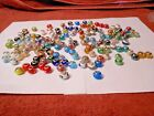 Murano Lampwork Glass Beads 925 Big Hole For European Charm Bracelet LOT of 150
