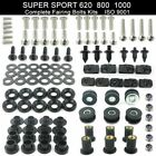For Ducati Super Sport 620 800 1000 Complete Cowling Fairing Bolts Screws Kit