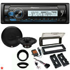 FOR 98 2013 HARLEY TOURING STEREO RADIO INSTALL KIT BIKE ELECTRONICS SPEAKERS A