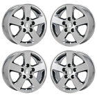 16 DODGE GRAND CARAVAN PVD CHROME WHEELS RIMS FACTORY OEM SET 2334
