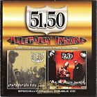 51.50 - Illegally Insane: Classic First Two Albums - 2 CD - **Excellent** - RARE