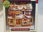 Lemax Village Collection Plymouth Corners Lighted House Snow RARE 2000 #05492