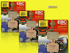 3 SETS! EBC HH Superbike Rear Brake Pads Aprilia Ducati KTM MV  (FA266HH)