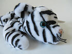 EUC TY Beanie Babies~' BLIZZARD '~Tiger ~ Born December 12, 1996 ~ FREE SHIPPING