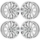 20 LINCOLN MKS MKT PVD CHROME WHEELS RIMS FACTORY OEM SET 3764