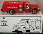 1st in Series. Texaco Colwell Oil 1951 Ford F-6 Fuel Tanker.  First Gear 1/34