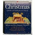 FIRST CHRISTMAS A POP UP AND PLAY PACK POP UP NATIVITY MODEL By Meryl Mint