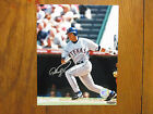 ALEX RODRIGUEZ Texas Rangers Signed Glossy Color 8 x 10 Photo