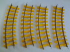 Thomas The Train Lionel Train Tracks Yellow 4 Curved Pieces G Scale