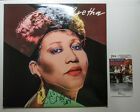 Aretha Franklin Signed ARETHA 1986 Vinyl Album w Andy Warhol art PROOF JSA COA