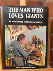 David Shepherd Autobiography Signed First Edition The Man Who Loves Giants