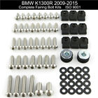 For 2009-2015 BMW K1300R 2010 2011 2012 2013 Complete Fairing Bolts Kit Washers