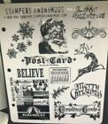 Tim Holtz Stamps MINI HOLIDAYS CMS066 Stampers Anonymous