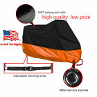 Motorcycle Cover Waterproof Outdoor Sunblock Dustproof XXXL for Harleys Honda