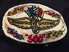 Vintage 60s Indianapolis Motor Speedway Racing Stripe Heavy Nylon Patch Jacket