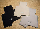 New Oem Infiniti Ex35 Carpeted Carpet Mats 3 Colors Available