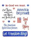 2 Sheets 4th Of July Patriotic Sayings Stickers Papercraft Planner Supply
