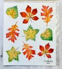 2 Sheets Glitter Fall Leaves Stickers Papercraft Planner Supply Autumn Harvest