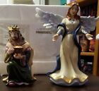 Thomas Kinkade Nativity Series King Melchior  Heavenly Angel Figurines