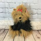 Ty Beanie Buddy Yapper the Yorkie Yorkshire Terrier Plush Dog with Original Tag