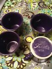 Fiesta Ware Plum Purple Ring Handle Mug
