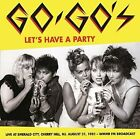 GO-GOS - Let's Have A Party: Live At Emerald City Cherry Hi - CD - Import - NEW
