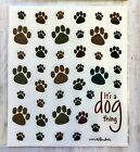 2 Sheets Dog Puppy Paw Print Animals Stickers Planner Papercraft Envelope Seals