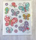 Glitter Bright Butterfly Planner Stickers Invitations Spring Scrapbook Insect