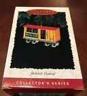 Hallmark Keepsake Ornament Yuletide Central Train Mail Car 1996