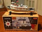 2000 TEXACO FIRE CHIEF TUGBOAT BANK  SPECIAL CHROME EDITION  1ST IN SERIES MIB