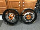KTM 690 Enduro R SuperMoto Wheels-2013, will fit many years/with spacers/disc's