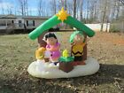2013 Peanuts Nativity Airblown Inflatable
