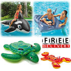Ride On Pool Toys Kid Children Inflatable Float Swimming Accessories Water Raft