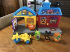 Vintage Fisher Price Little People Trick Or Treat Haunted Halloween House htf