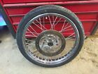 2005 Harley-davidson Sportster 1200 Custom Xl1200c Front Wheel Rim With Tire