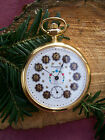 Herrentaschenuhr Trachtenuhr REGENT HABMANN POCKET WATCH MIT ORIGINAL KLEBER!