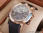 BREGUET MARINE ROYALE ALARM 18K ROSE GOLD 5847BR/Z2/5ZV MENS WATCH