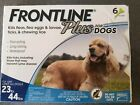 New Frontline Plus Flea  Tick Treatment for Medium Dogs 23 44 pounds 6 Doses