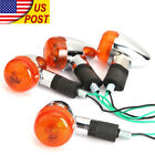 4x Turn Signal Lights For Kawasaki Vulcan VN 1500 1600 1700 2000 800 900 Classic