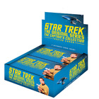 2 x Star Trek TOS Captain`s Collection Trading Card Box + Promo P1 and P2