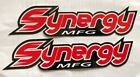 2 SYNERGY MFG LARGE racing decals stickers 25X10FREE SHIPPING utv offroad jeep