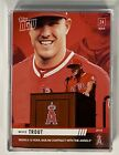 2019 TOPPS NOW #10 Mike Trout Signs 12 Year $426.5M Contract w ANGELS Lot of 20