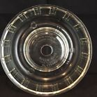 QUEEN ANNE BUNDT CAKE PAN OR JELLO MOLD RING VINTAGE 1940s GLASBAKE CLEAR GLASS